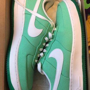 Nike AF1s.